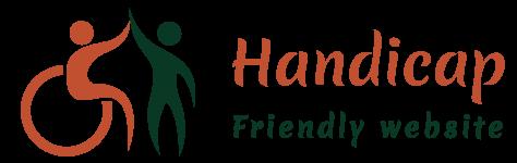 Handicap friendly website